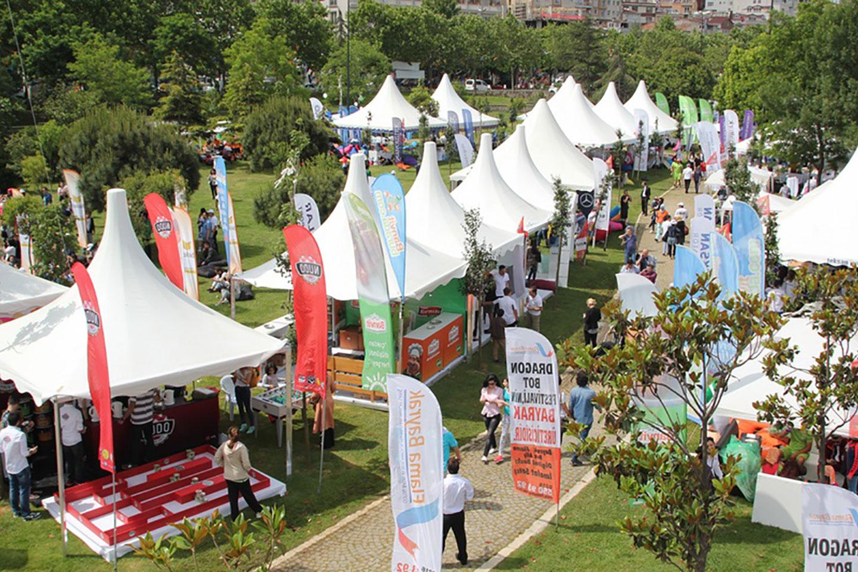 2019 Eylül İstanbul Dragon Festivali Çadır Numara Listesi